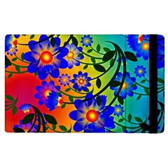 Abstract Background Backdrop Design Apple Ipad 2 Flip Case by Amaryn4rt