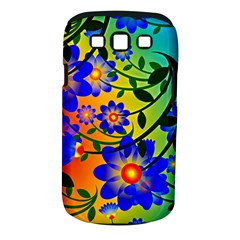 Abstract Background Backdrop Design Samsung Galaxy S Iii Classic Hardshell Case (pc+silicone) by Amaryn4rt