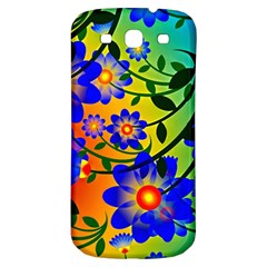 Abstract Background Backdrop Design Samsung Galaxy S3 S Iii Classic Hardshell Back Case by Amaryn4rt