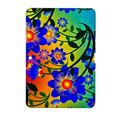 Abstract Background Backdrop Design Samsung Galaxy Tab 2 (10 1 ) P5100 Hardshell Case  by Amaryn4rt