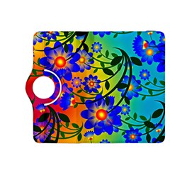 Abstract Background Backdrop Design Kindle Fire Hdx 8 9  Flip 360 Case by Amaryn4rt