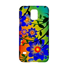 Abstract Background Backdrop Design Samsung Galaxy S5 Hardshell Case  by Amaryn4rt