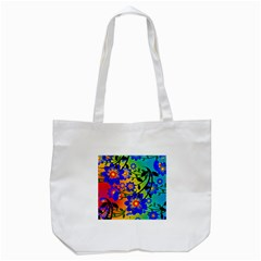 Abstract Background Backdrop Design Tote Bag (white) by Amaryn4rt