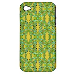 Ornate Modern Noveau Apple Iphone 4/4s Hardshell Case (pc+silicone) by dflcprints