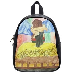 Lunacy Of Spirit School Bags (small)  by artsystorebytandeep