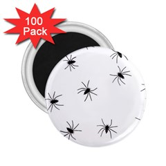 Animals Arachnophobia Seamless 2 25  Magnets (100 Pack)