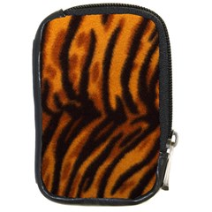 Animal Background Cat Cheetah Coat Compact Camera Cases by Amaryn4rt