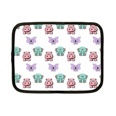 Animals Pastel Children Colorful Netbook Case (small)  by Amaryn4rt