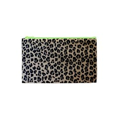 Background Pattern Leopard Cosmetic Bag (xs) by Amaryn4rt