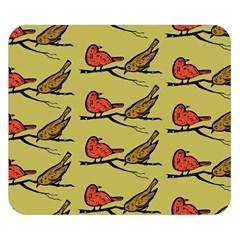 Bird Birds Animal Nature Wild Wildlife Double Sided Flano Blanket (small)  by Amaryn4rt