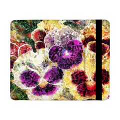 Background Flowers Samsung Galaxy Tab Pro 8.4  Flip Case by Amaryn4rt