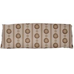 Background Rough Stripes Brown Tan Body Pillow Case Dakimakura (two Sides) by Amaryn4rt