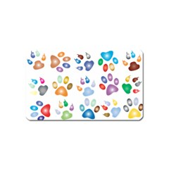 Colorful Prismatic Rainbow Animal Magnet (name Card) by Amaryn4rt