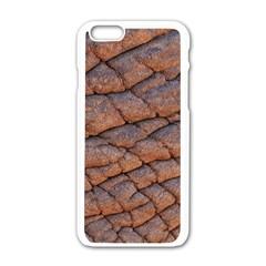 Elephant Skin Apple Iphone 6/6s White Enamel Case
