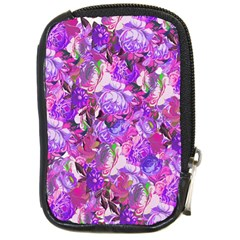 Flowers Abstract Digital Art Compact Camera Cases by Amaryn4rt