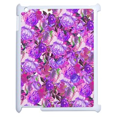 Flowers Abstract Digital Art Apple Ipad 2 Case (white) by Amaryn4rt