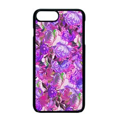 Flowers Abstract Digital Art Apple iPhone 7 Plus Seamless Case (Black) by Amaryn4rt