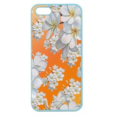 Flowers Background Backdrop Floral Apple Seamless Iphone 5 Case (color) by Amaryn4rt