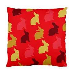 Hare Easter Pattern Animals Standard Cushion Case (two Sides) by Amaryn4rt