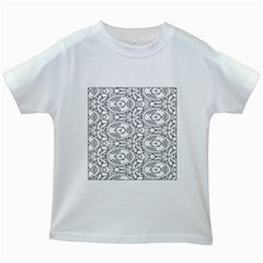 Pattern Silly Coloring Page Cool Kids White T Shirts by Amaryn4rt