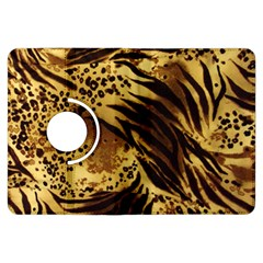 Pattern Tiger Stripes Print Animal Kindle Fire Hdx Flip 360 Case by Amaryn4rt
