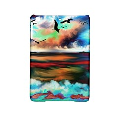 Ocean Waves Birds Colorful Sea iPad Mini 2 Hardshell Cases by Amaryn4rt