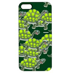 Seamless Tile Background Abstract Turtle Turtles Apple Iphone 5 Hardshell Case With Stand by Amaryn4rt