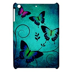 Texture Butterflies Background Apple Ipad Mini Hardshell Case