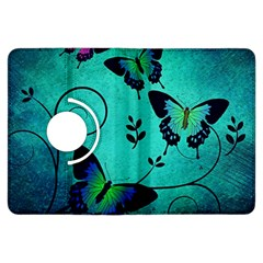 Texture Butterflies Background Kindle Fire Hdx Flip 360 Case by Amaryn4rt