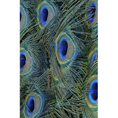 Peacock Feathers Blue Bird Nature 5 5  X 8 5  Notebooks by Amaryn4rt