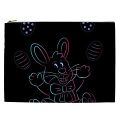 Easter Bunny Hare Rabbit Animal Cosmetic Bag (xxl)