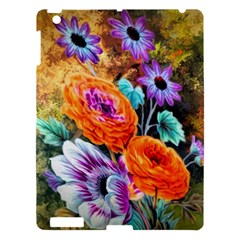 Flowers Artwork Art Digital Art Apple Ipad 3/4 Hardshell Case