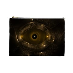 Abstract Fractal Art Artwork Cosmetic Bag (large)