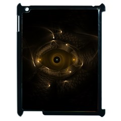 Abstract Fractal Art Artwork Apple Ipad 2 Case (black) by Amaryn4rt