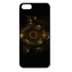 Abstract Fractal Art Artwork Apple Seamless Iphone 5 Case (clear) by Amaryn4rt