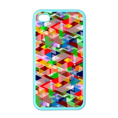 Background Abstract Apple Iphone 4 Case (color)