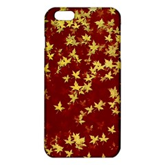 Background Design Leaves Pattern iPhone 6 Plus/6S Plus TPU Case by Amaryn4rt