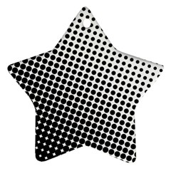 Background Wallpaper Texture Lines Dot Dots Black White Ornament (star) by Amaryn4rt