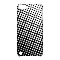 Background Wallpaper Texture Lines Dot Dots Black White Apple Ipod Touch 5 Hardshell Case With Stand by Amaryn4rt