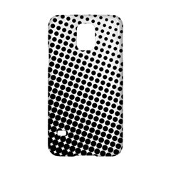 Background Wallpaper Texture Lines Dot Dots Black White Samsung Galaxy S5 Hardshell Case  by Amaryn4rt