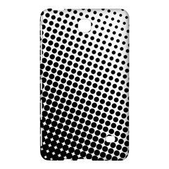 Background Wallpaper Texture Lines Dot Dots Black White Samsung Galaxy Tab 4 (8 ) Hardshell Case  by Amaryn4rt