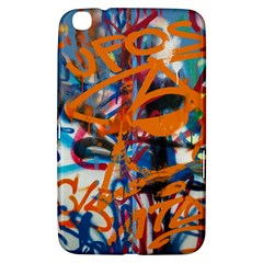 Background Graffiti Grunge Samsung Galaxy Tab 3 (8 ) T3100 Hardshell Case  by Amaryn4rt