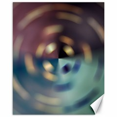 Blur Bokeh Colors Points Lights Canvas 11  X 14   by Amaryn4rt
