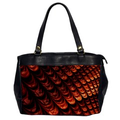 Brown Fractal Mathematics Frax Office Handbags by Amaryn4rt