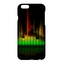 Plaid Light Neon Green Apple Iphone 6 Plus/6s Plus Hardshell Case by Alisyart
