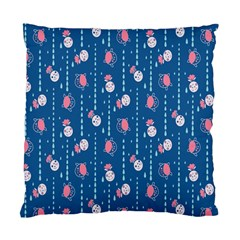 Pig Pork Blue Water Rain Pink King Princes Quin Standard Cushion Case (one Side) by Alisyart