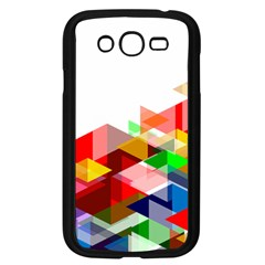 Graphics Cover Gradient Elements Samsung Galaxy Grand Duos I9082 Case (black) by Amaryn4rt