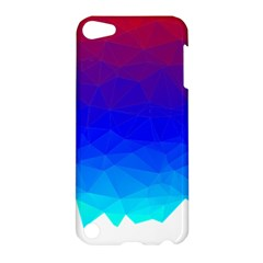 Gradient Red Blue Landfill Apple Ipod Touch 5 Hardshell Case