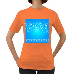 Desktop Banner Postcard Hearts Women s Dark T Shirt by Amaryn4rt