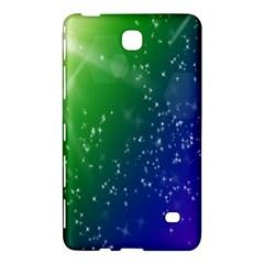 Shiny Sparkles Star Space Purple Blue Green Samsung Galaxy Tab 4 (8 ) Hardshell Case  by Alisyart